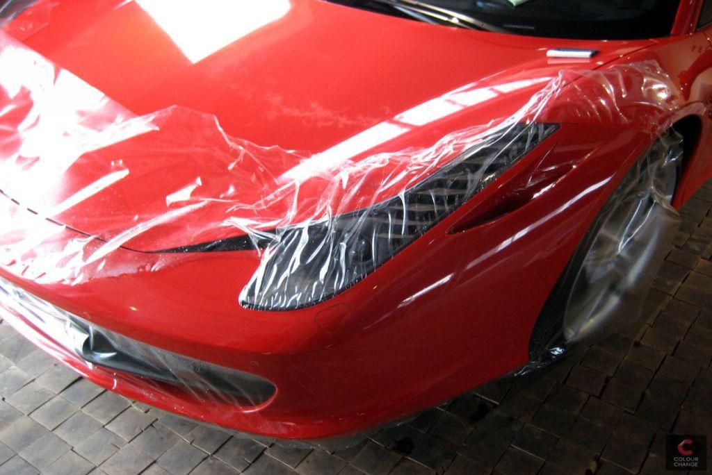 Ferrari 458 italia – stone protect