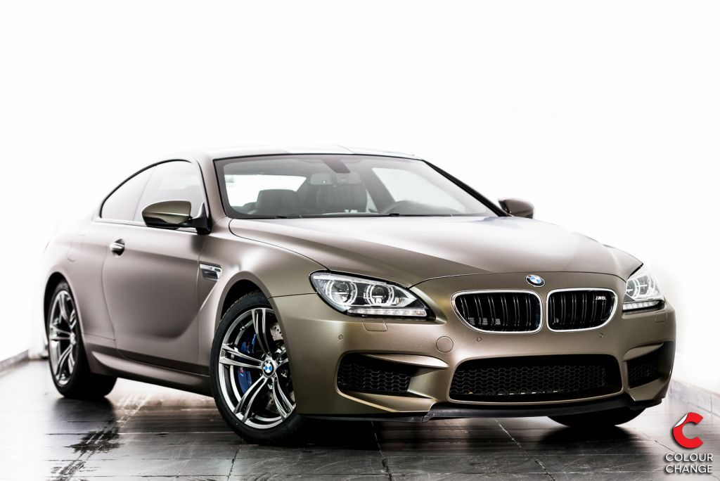 BMW M6 – Matt Frozen Bronze