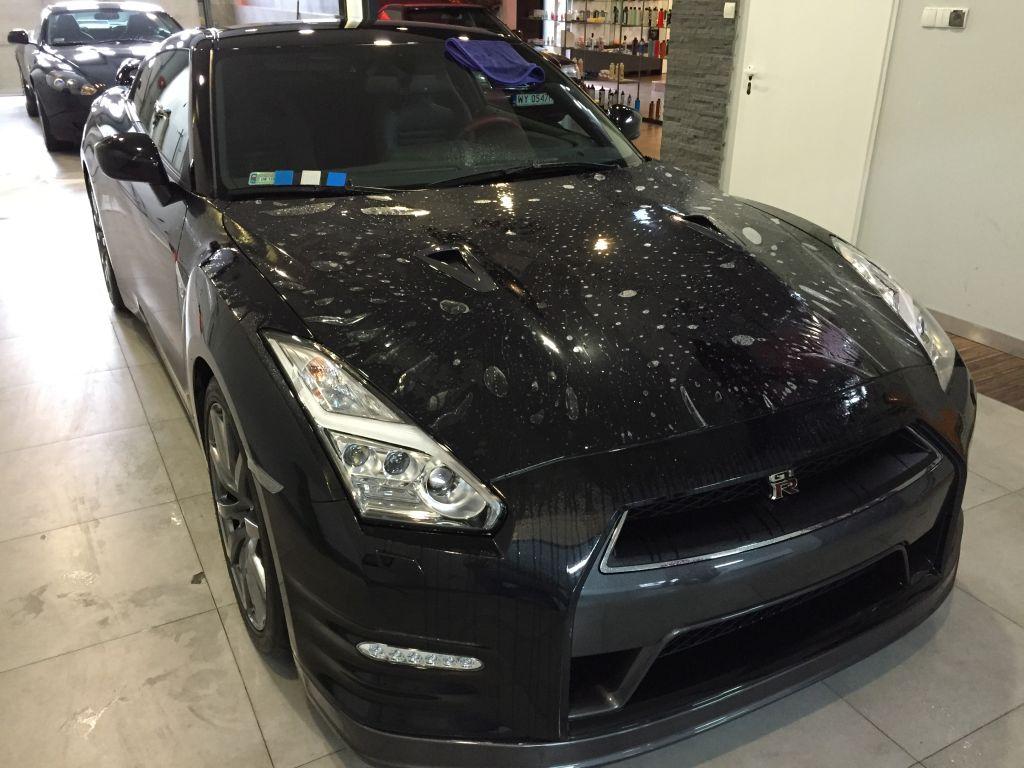Nissan gt-r czarny