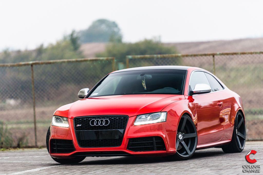 Audi s5 – cherry red metallic