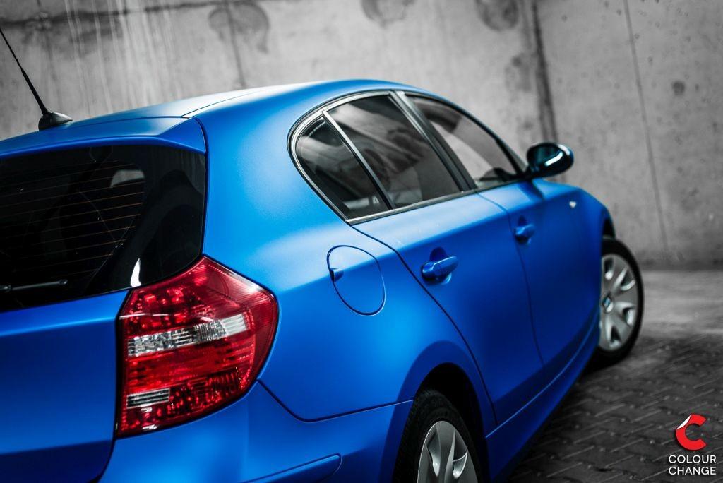 BMW 1 – blue aluminium