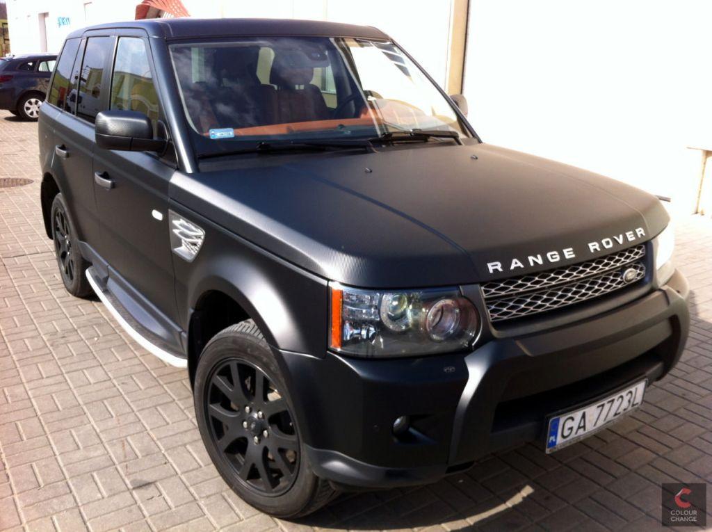 Range rover sport – matte black