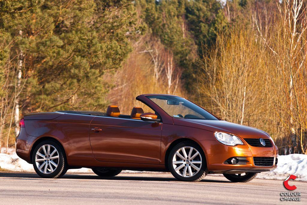 VW eos – bronze metallic