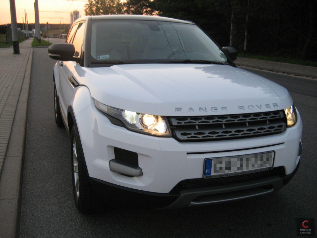 Range rover evoque – white gloss