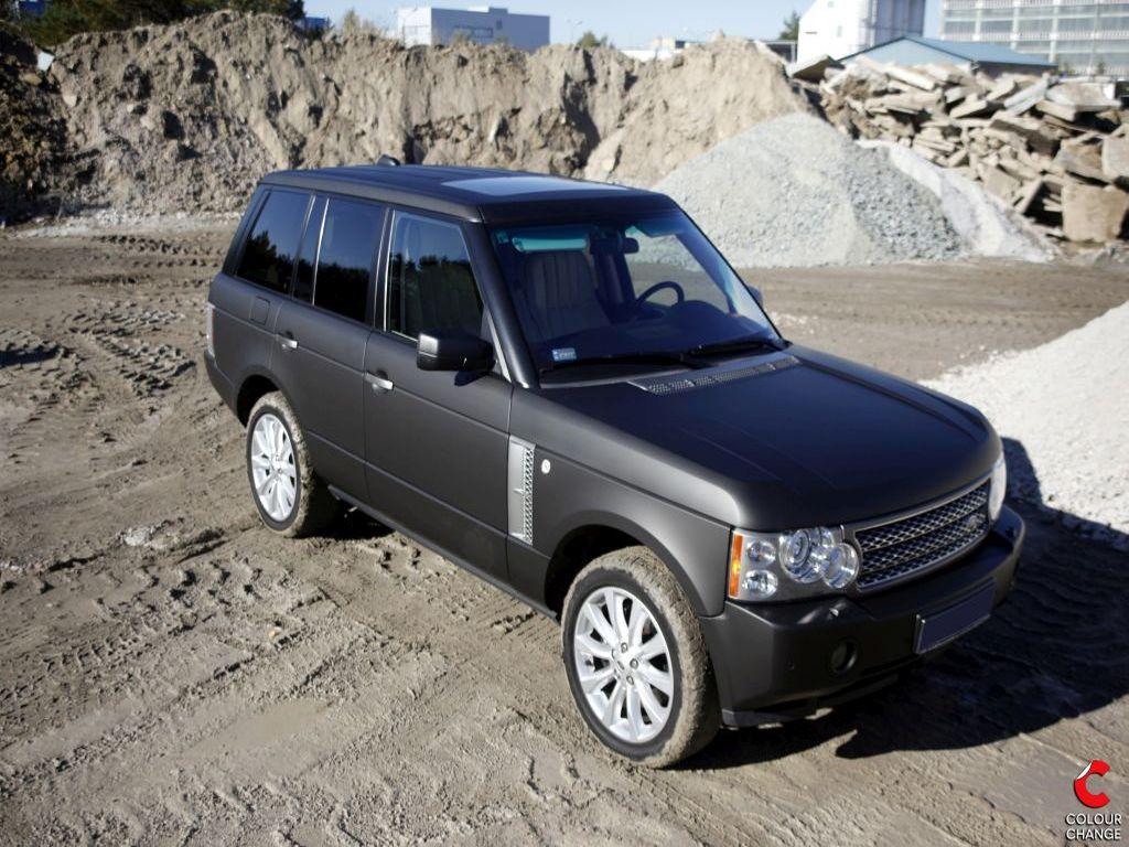 Range rover vogue – matte black