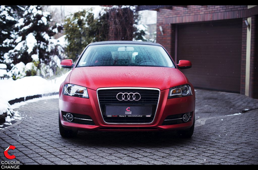 Audi a3 – matte transparent