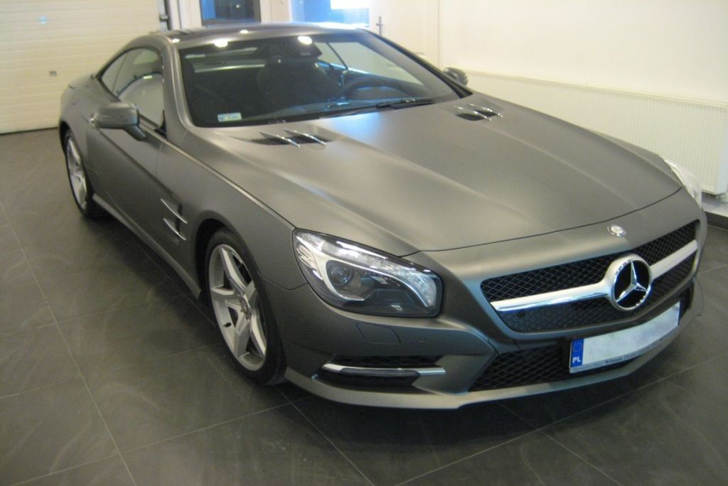 Mercedes sl – matte transparent