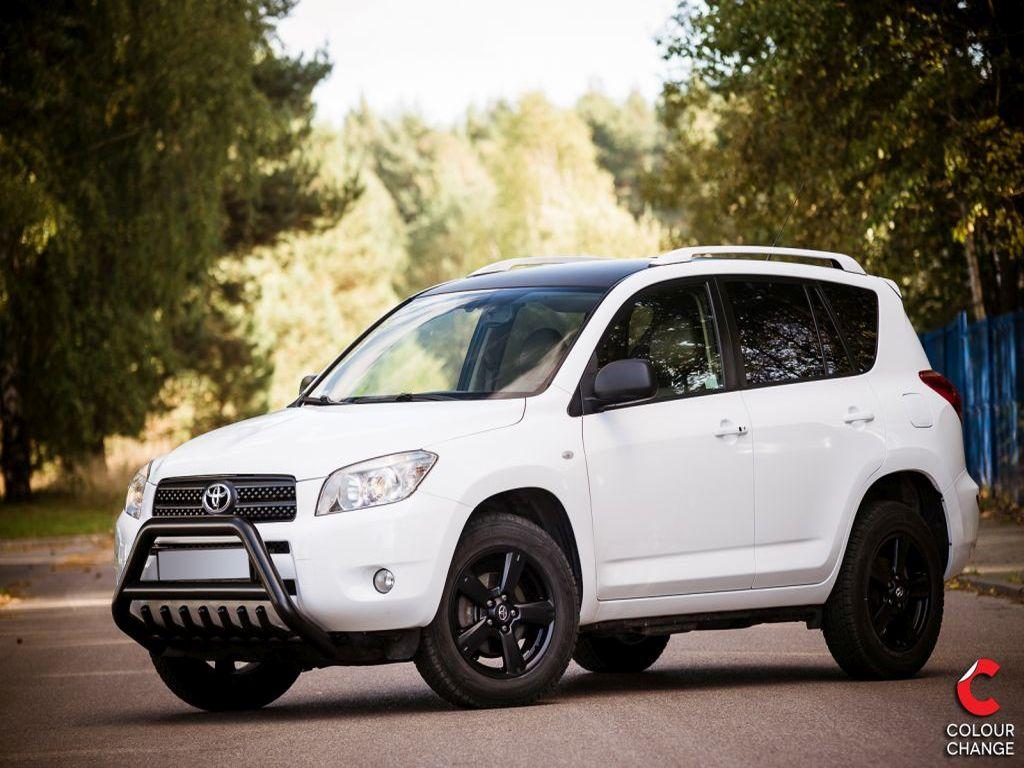 Toyota rav4 – white metallic