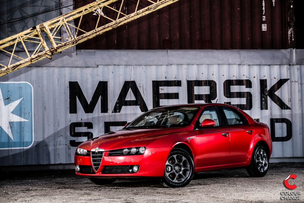 Alfa Romeo 159 – Cherry Red Metallic